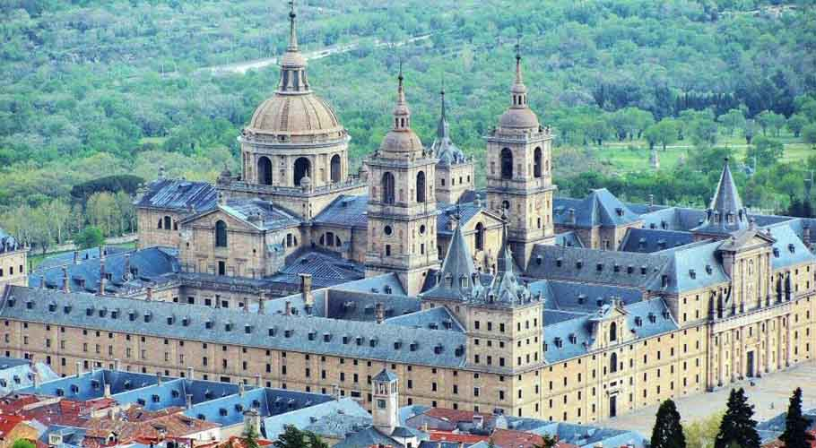 El Escorial, Madrid.